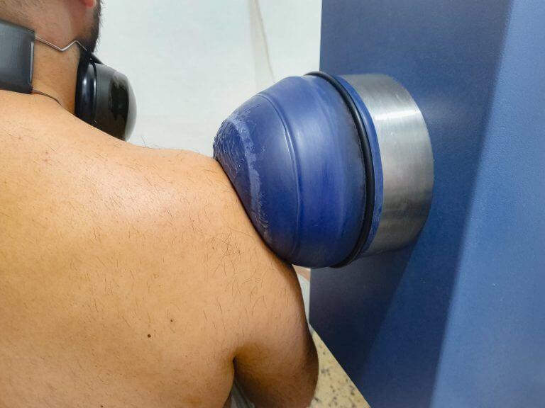 גלי הלם לטיפול בכאבי כתף